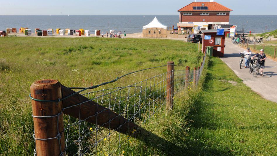 Strand von Hooksiel (Niedersachsen)