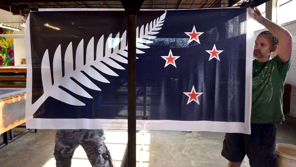 Der Siegerentwurf: So soll Neuseelands Nationalflagge aussehen