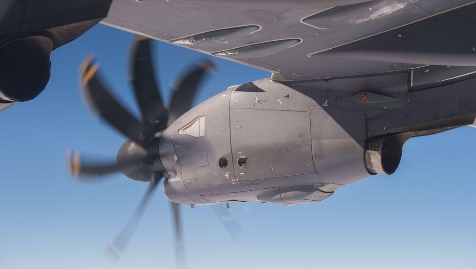 Triebwerk des Airbus A400M