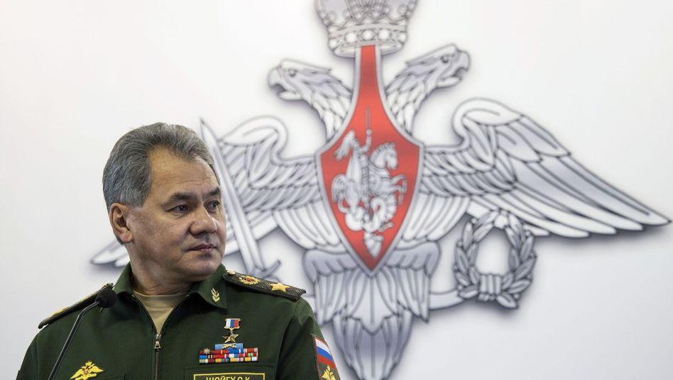 """Russischer Verteidigungsminister Sergej Schoigu: """"Kampfkraft signifikant gesenkt"""""""