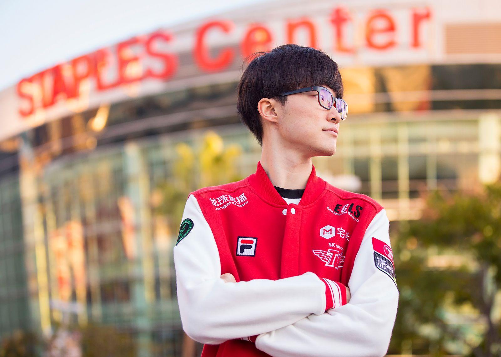 "EINMALIGE VERWENDUNG League of Legends/ Lee ""Faker"" Sang-hyeok"