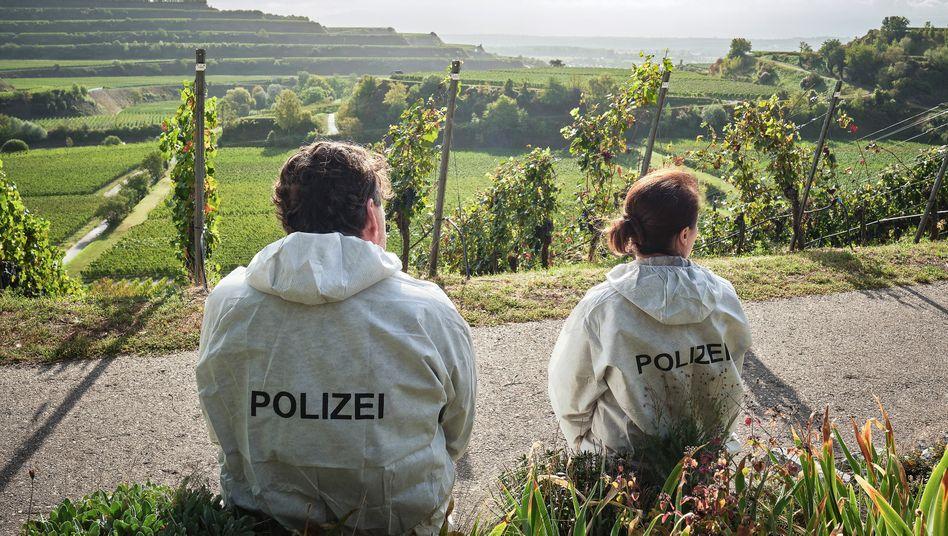 Die Rebhänge rauf, die Rebhänge runter: Berg und Tobler am Tatort