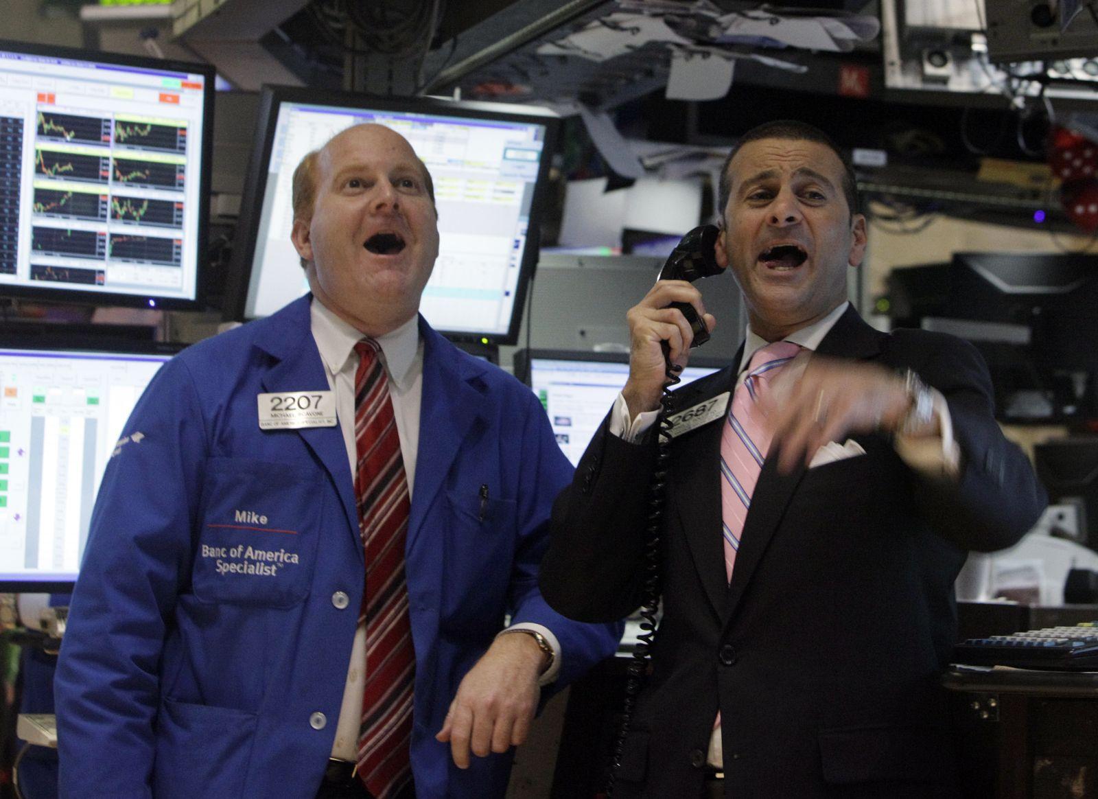 Wall Street / Dow Jones / Börsenrallye