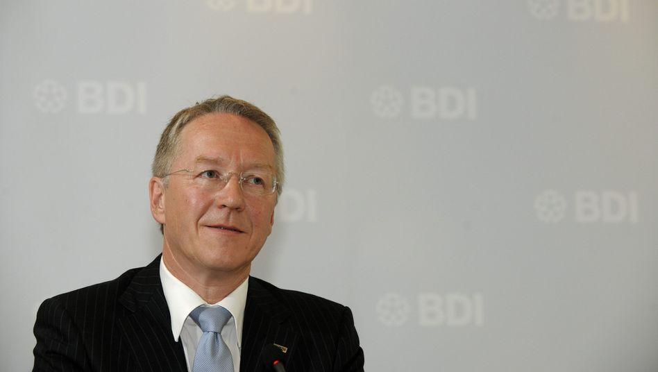 BDI-Hauptgeschäftsführer Schnappauf: Hohn und Spott