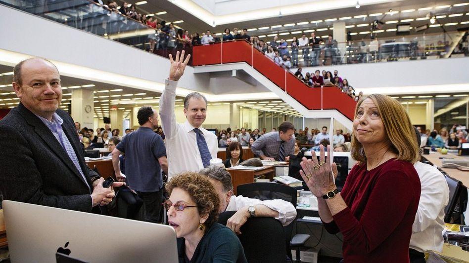 """Newsroom der »New York Times"""": Glaubwürdigkeit gegen Geld"""
