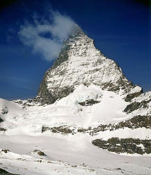 """Schnee am Matterhorn: """"Hier ist es ein bisschen mehr, dort etwas weniger"""""""