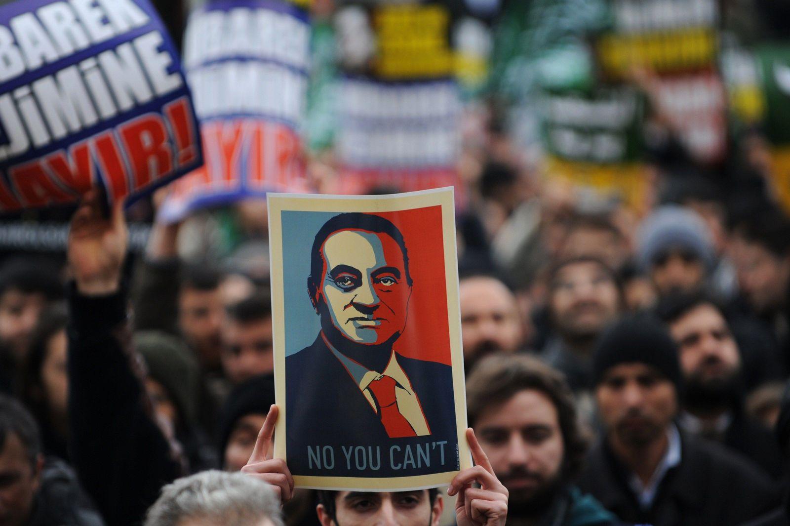 TÜRKEI Proteste Ägypten Freitag