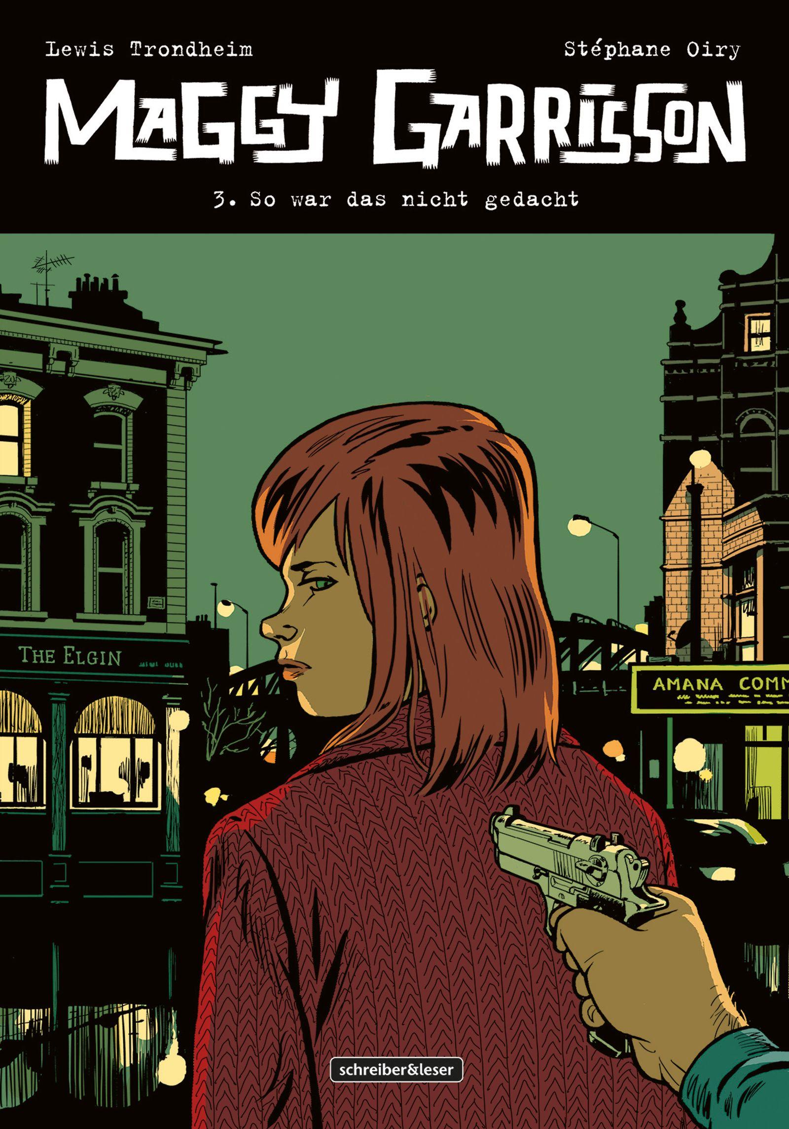 Comictipps/ Lewis Trondheim: Maggy Garrisson Bd. 3 COVER