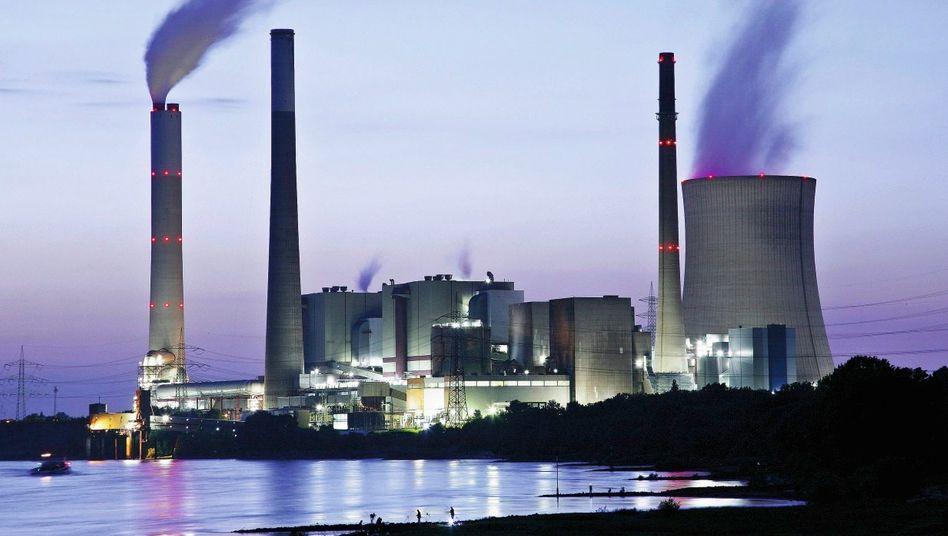Steinkohlekraftwerk am Niederrhein