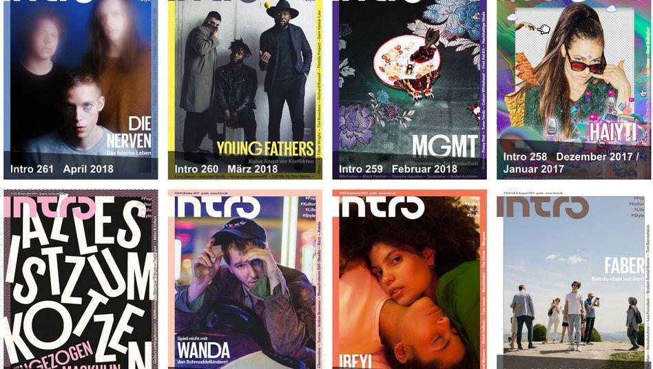 "Magazin ""Intro"""