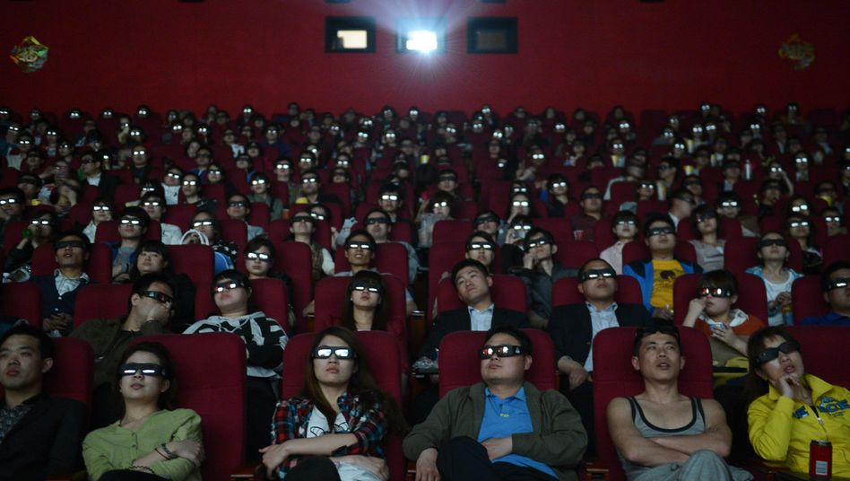 3D-Kinovorführung in China: Jetzt auch noch Besucherkommentare