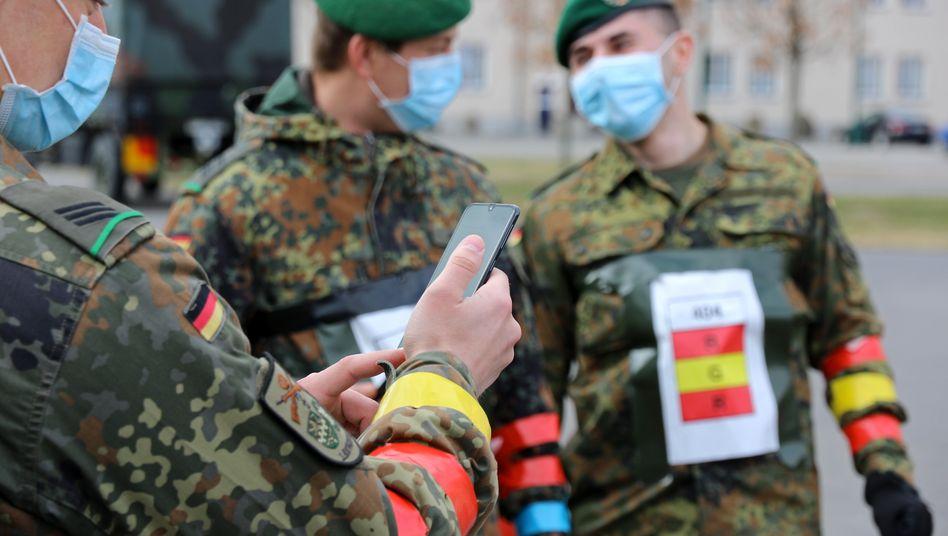 Tests der Pepp-PT-Technik durch die Bundeswehr