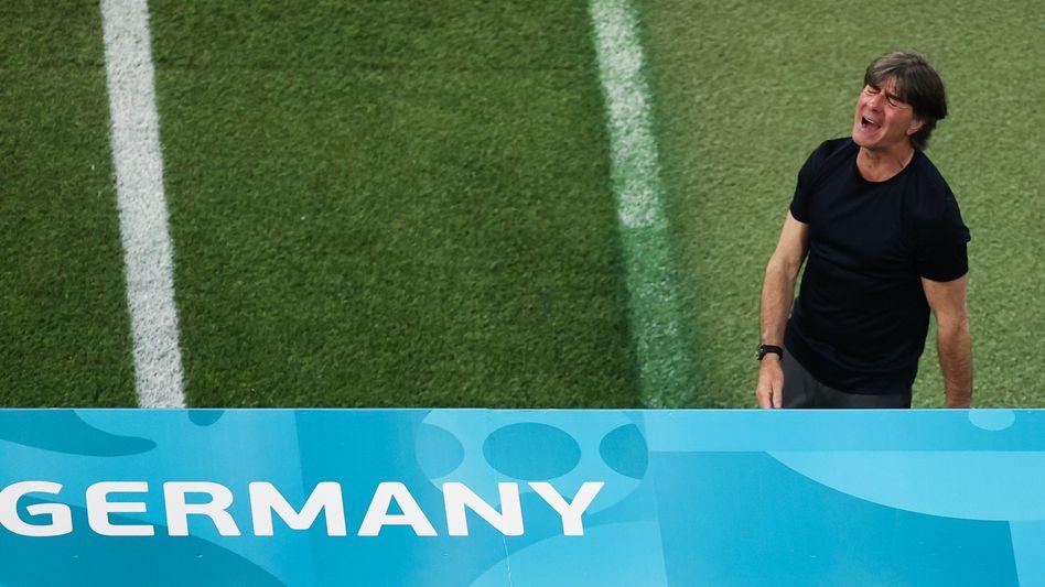 Joachim Löw: »Kämpferisch kann ich der Mannschaft nichts vorwerfen, wir haben alles reingehauen«