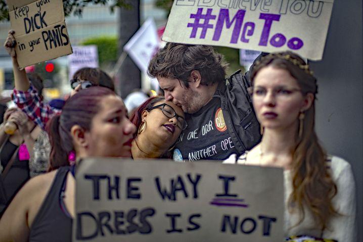 #MeToo-Demo in Los Angeles