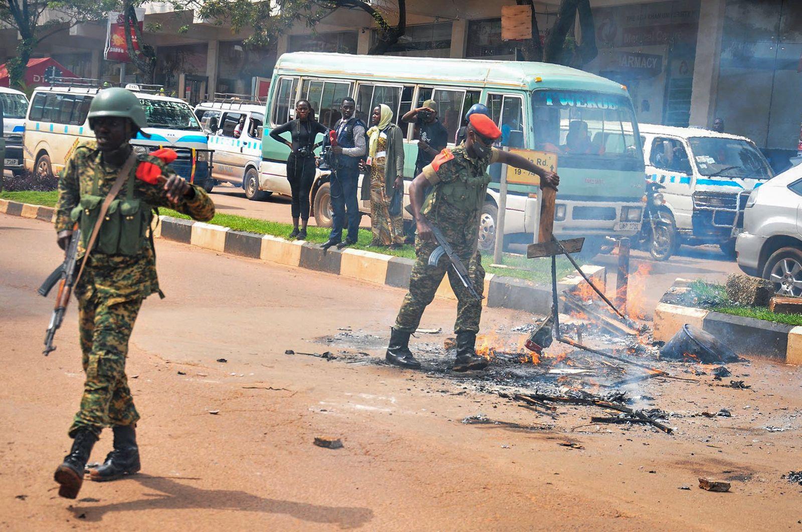 Vor der Präsidentenwahl in Uganda