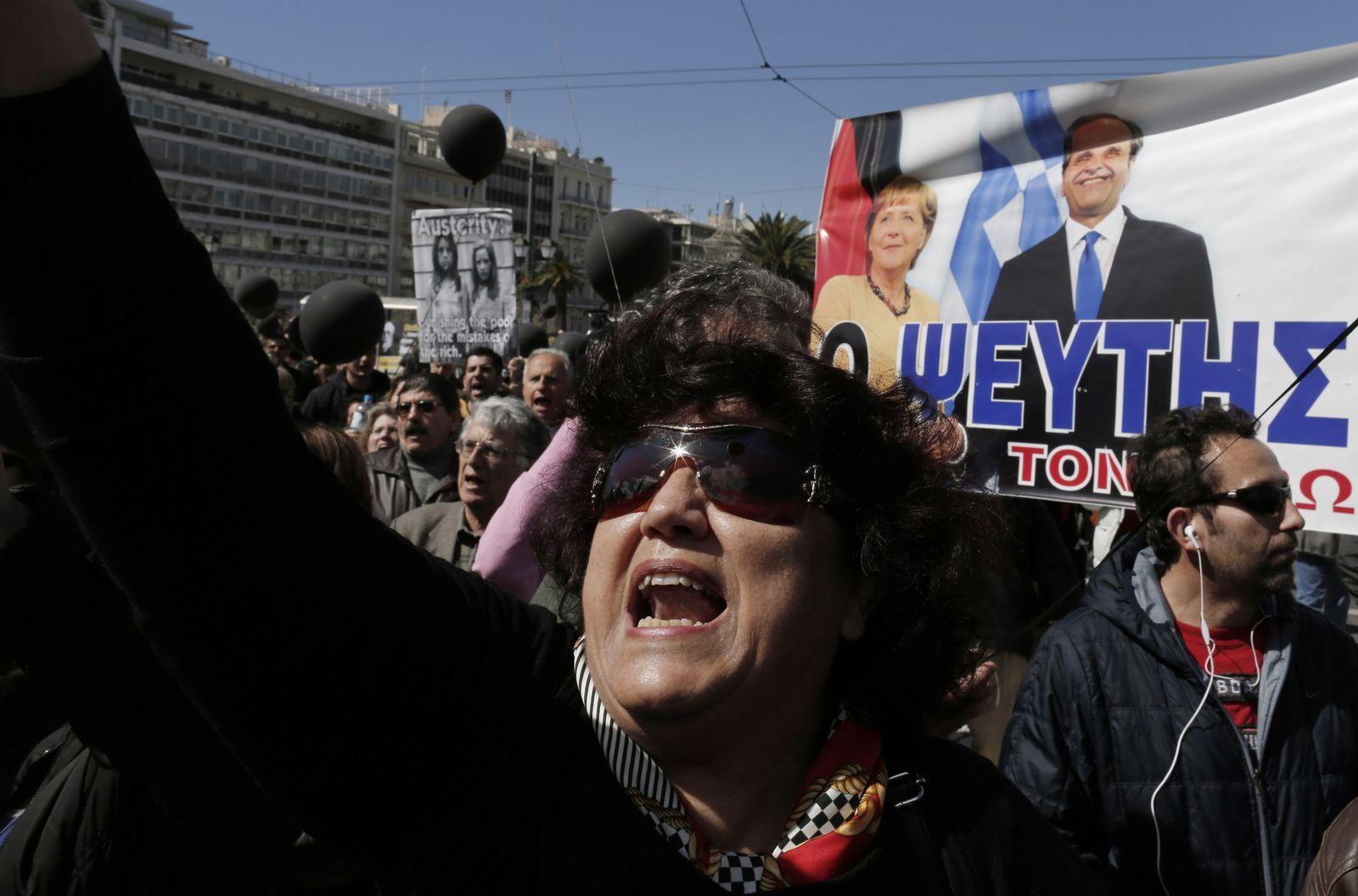 Griechenland Merkel