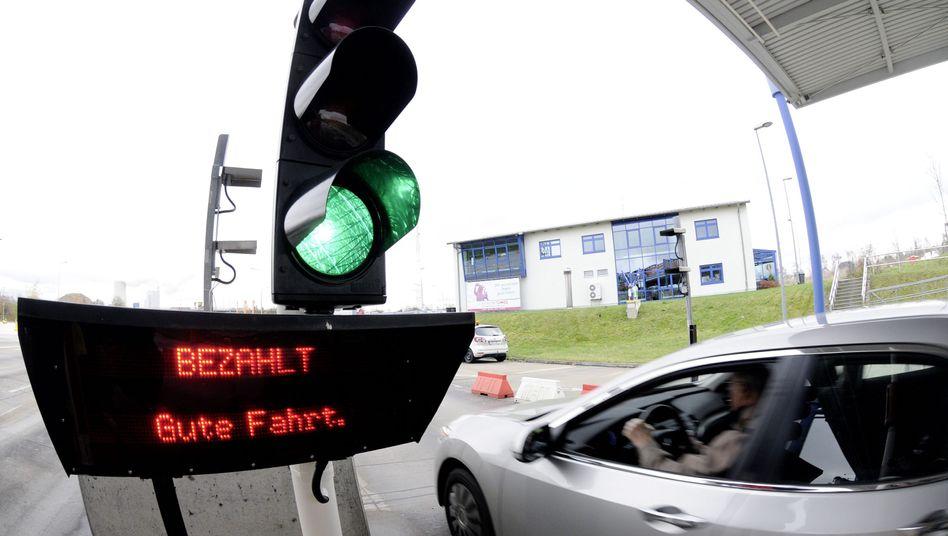 Mautstelle (Symbolbild): Städtebund plädiert für neue Abgabenregelung