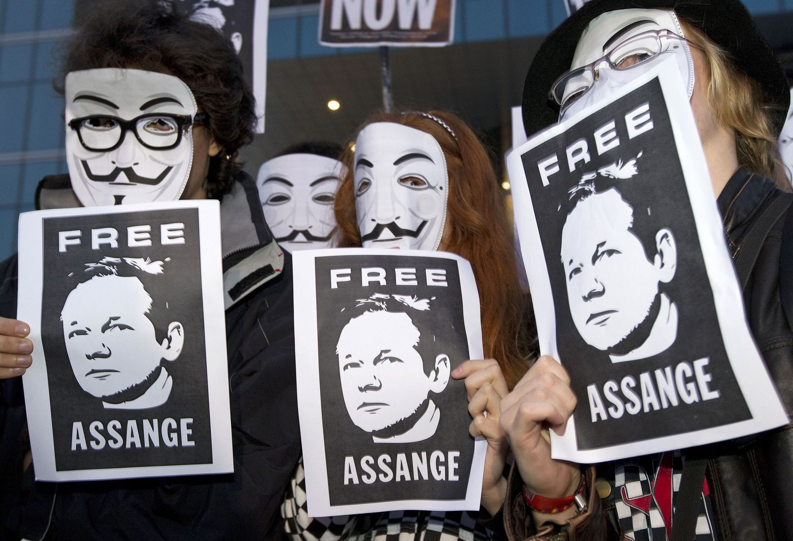 Anonym Protest / Wikileaks