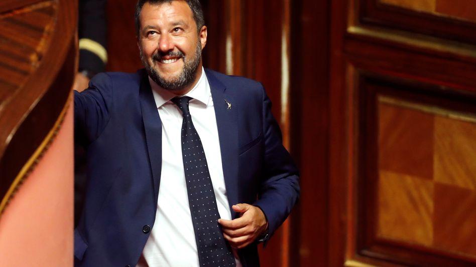 Innenminister Matteo Salvini