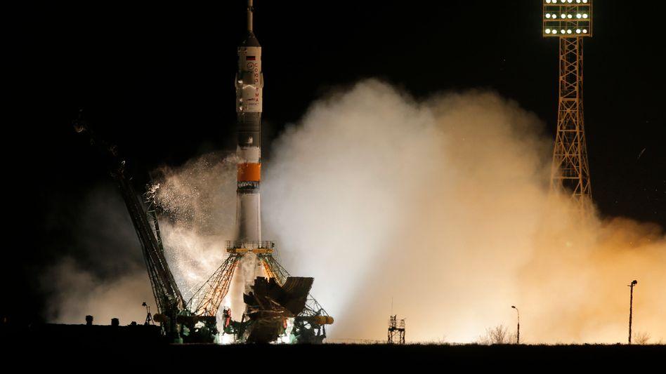 Sojus-Rekordflug: Raumfahrer erreichen ISS in nur sechs Stunden