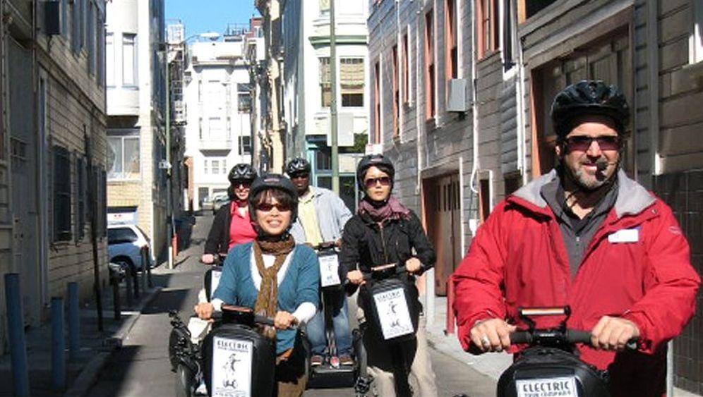 Stehroller Segway: Als E-Tourist durch San Francisco