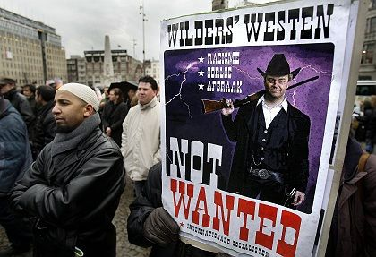 "Protesters have opposed his film, but Geert Wilders says ""Fitna"" is a ""last warning to the West."""
