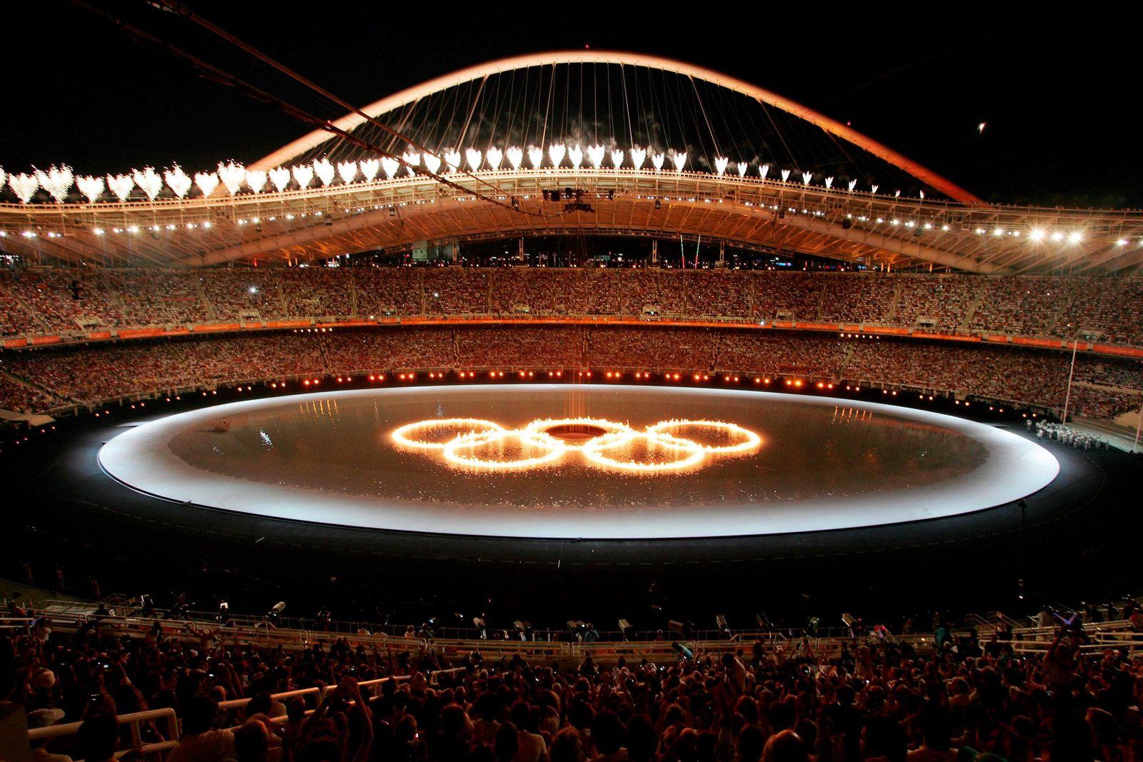 Jahreswechsel - Olympische Spiele 2004 in Athen