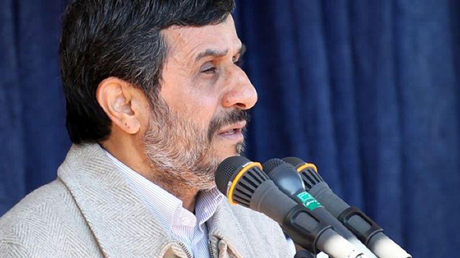 "Irans Präsident Ahmadinedschad: ""Wir brauchen keine Atombombe"""