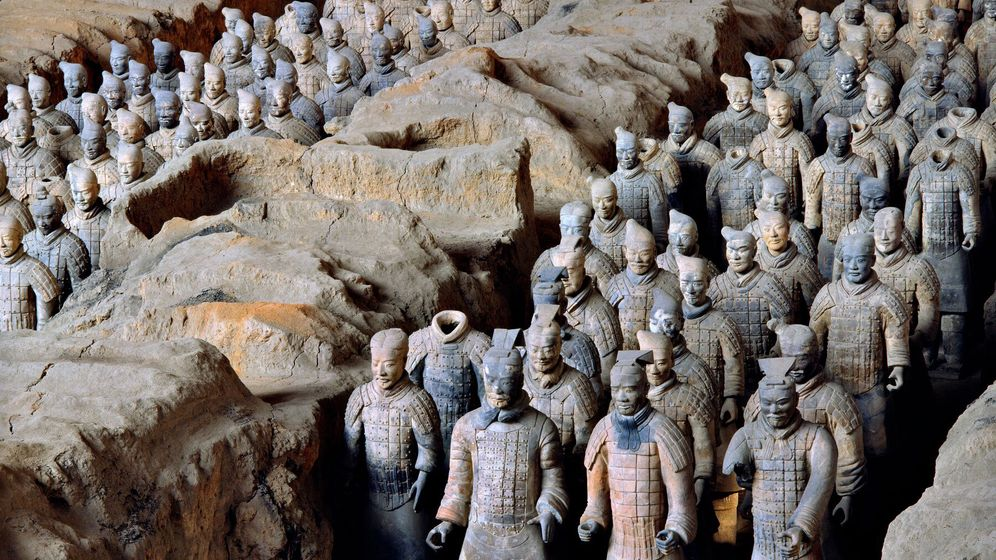 Archäologie: Im Grab des Kaisers