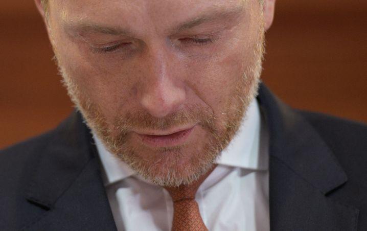 """FDP-Chef Lindner: """"Es gibt morgen eine Vertrauensfrage im Präsidium"""""""