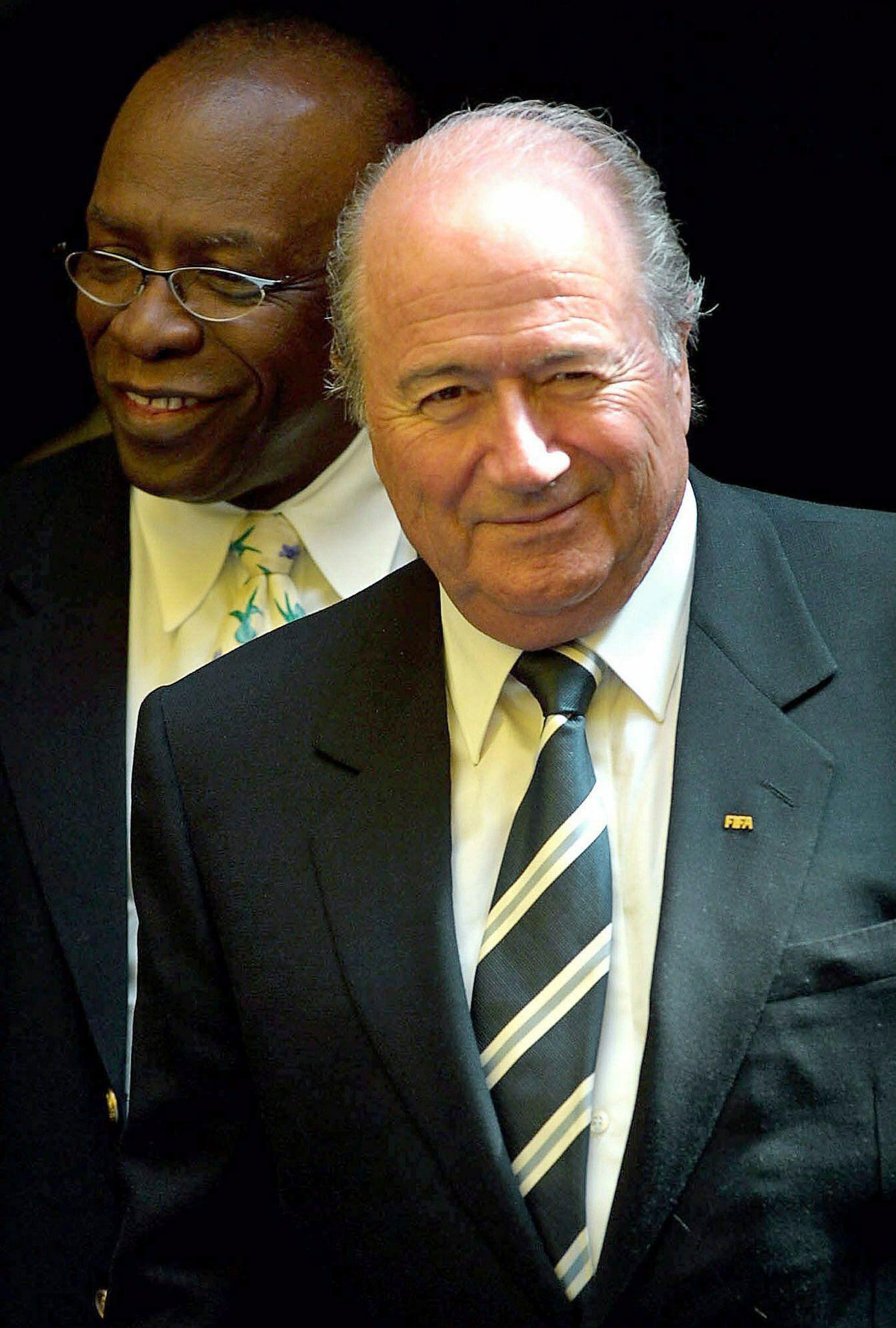 Jack Warner und Joseph Blatter
