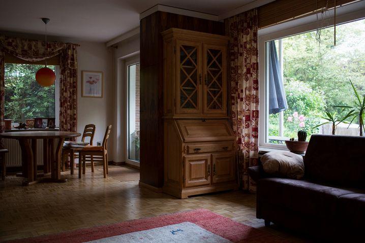 """Heinrichs M.s Wohnzimmer im Norden Hamburgs: """"Wenn 20 Prozent von dem klappt, was man sich vorstellt, ist es schon gut."""""""