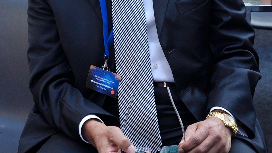 Früherer Vize-Präsident Bin Hammam: 90 Tage