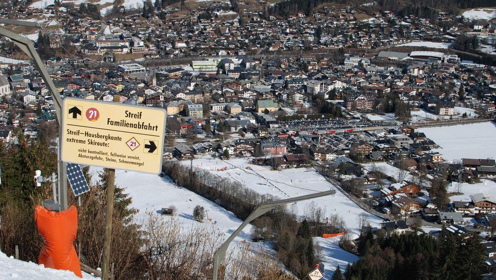 Vertical Up in Kitzbühel: Eine Wurstkette für die Letzte