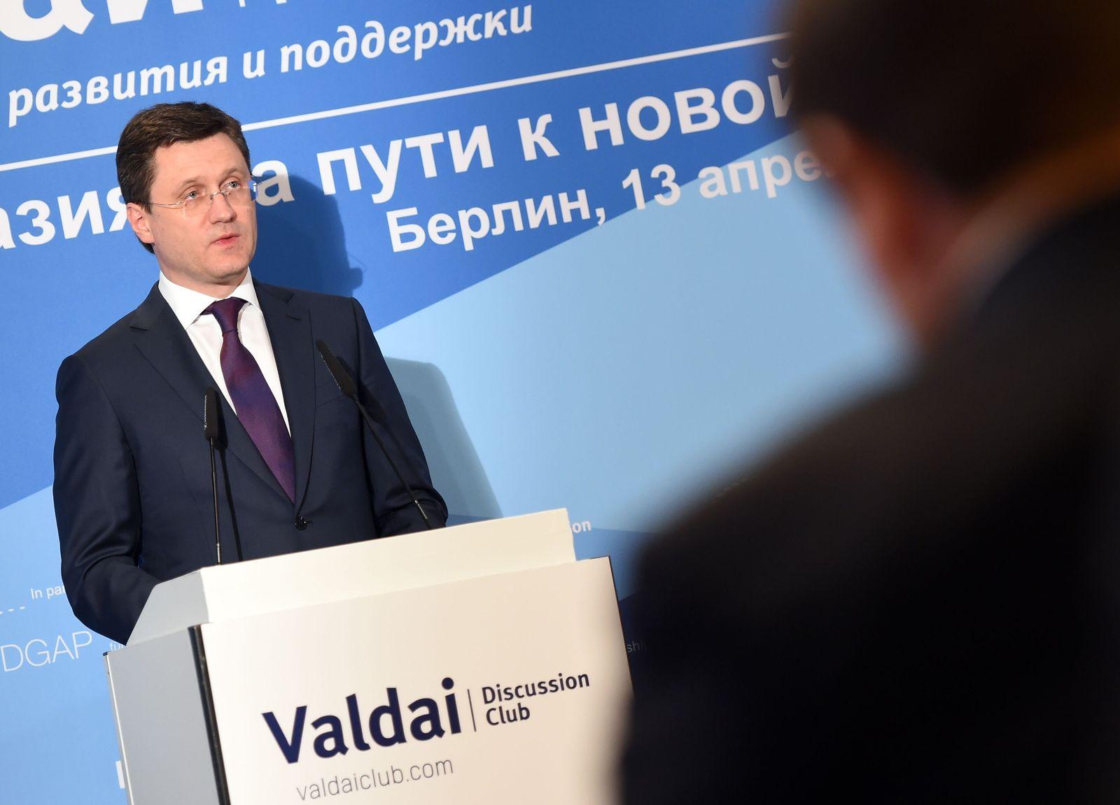 Diskussionsklub �Waldaiª �ber EU-Russland-Beziehungen