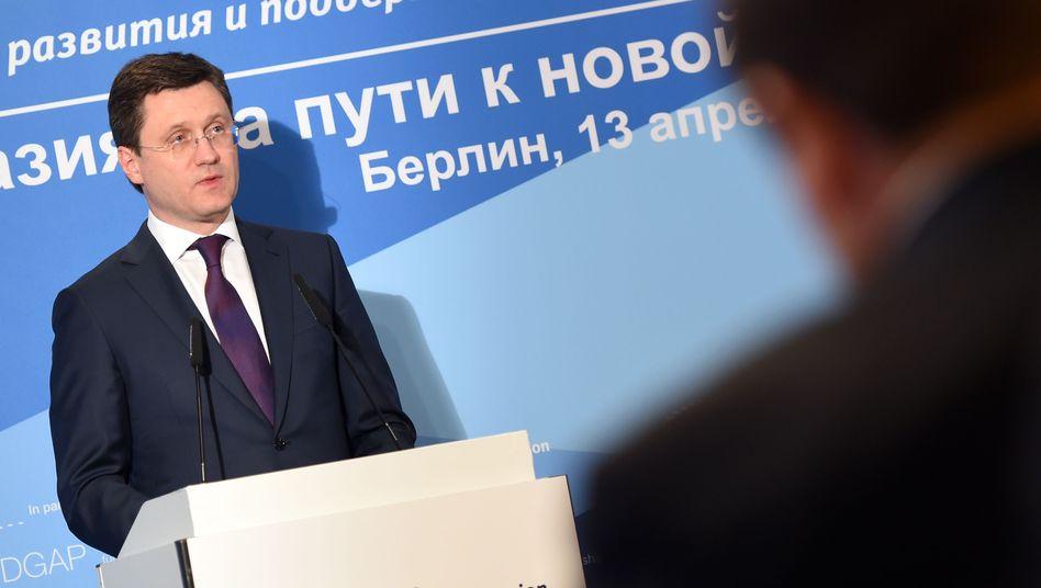 Russlands Energieminister Alexander Nowak (Archivbild)