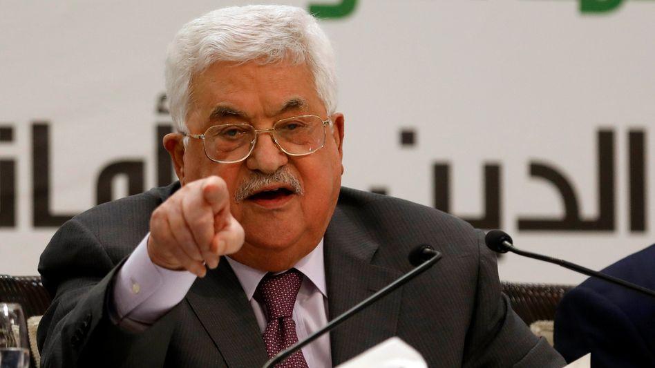 Palästinenser-Präsident Abbas