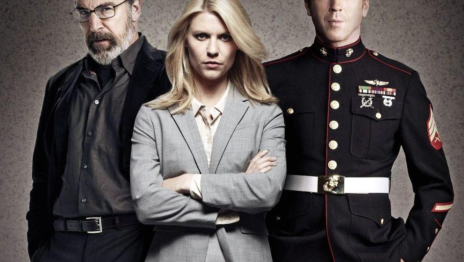 »Homeland«-Stars Mandy Patinkin, Danes, Lewis: Fernsehen auf der Höhe unserer Ängste