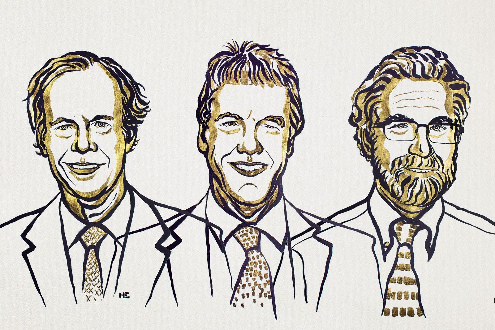 EINMALIGE VERWENDUNG Nobelpreis 2019/ Medizin/ Zellforscher