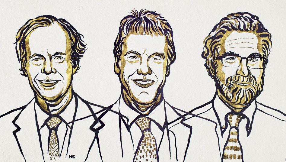 Die Nobelpreisträger 2019: William Kaelin, Sir Peter Ratcliffe und Gregg Semenza