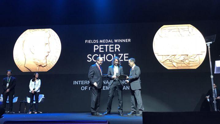 Fields-Medaille: Ausnahmetalent Peter Scholze