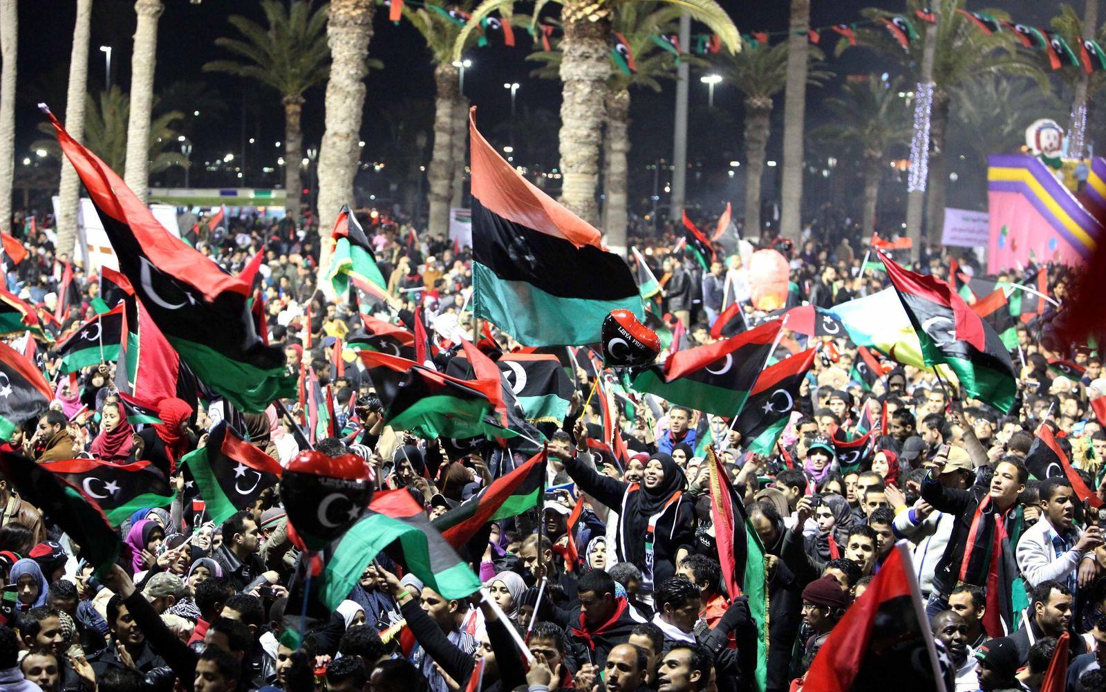 DER SPIEGEL 9/2012 pp 50 SPIN / Libyen Revolutions-Jahrestag