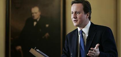 """Tory-Chef Cameron: Fordert wie Querdenker Blond einen """"Kapitalismus mit Gewissen"""""""