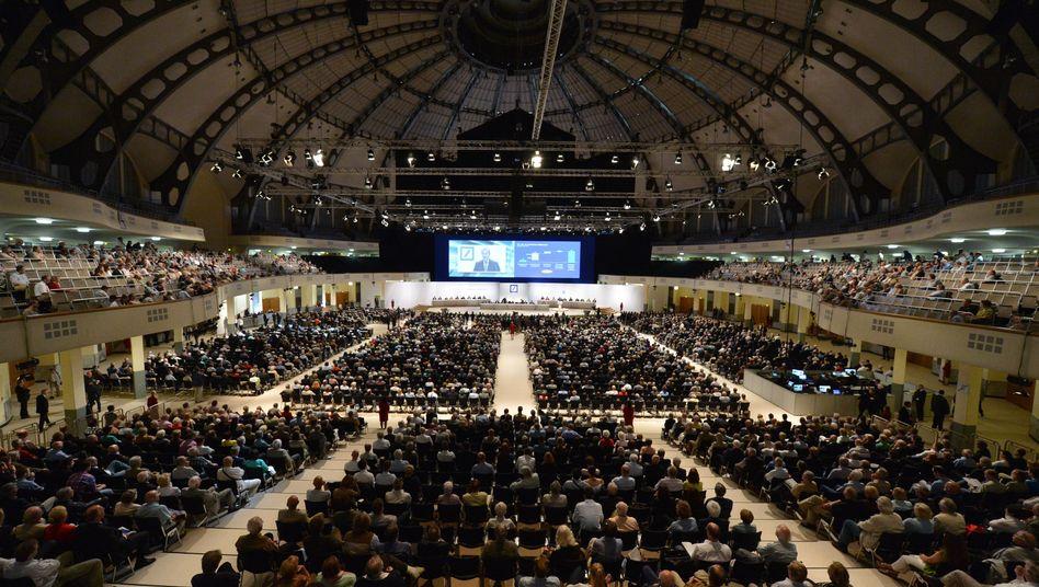 Aktionärsversammlung der Deutschen Bank: Überproportionale Kurssteigerungen