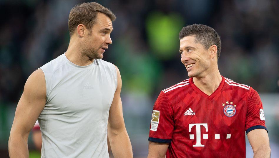 Manuel Neuer, Robert Lewandowski: Geht die Auszeichnung nach München?