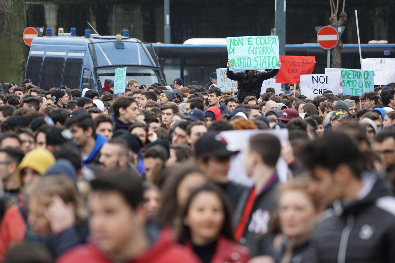 Neapel Demonstration