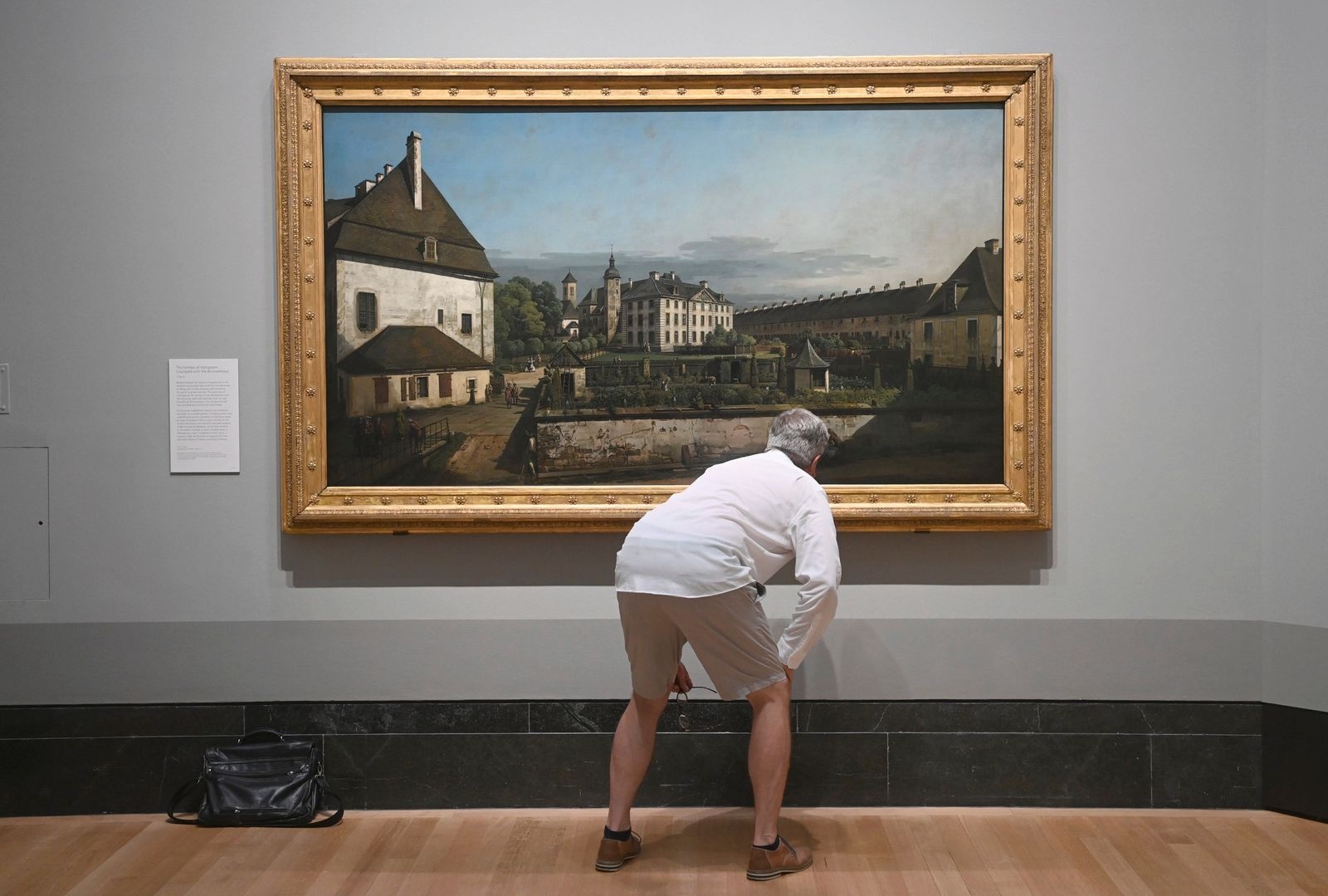Bellotto exhibition at the National Gallery