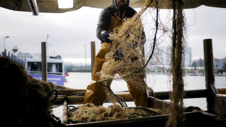 Französischer Fischer in Boulogne-sur-Mer: Zoff mit britischen Kollegen im Ärmelkanal