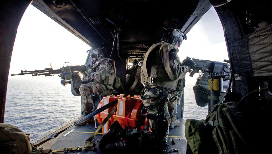 Französische Nato-Truppen im Einsatz (Archivbild): Schritte gegen Russland erwogen