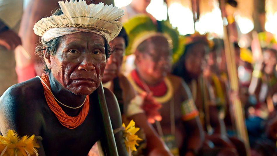"""Indigene in Brasilien: """"Schutz garantieren"""""""